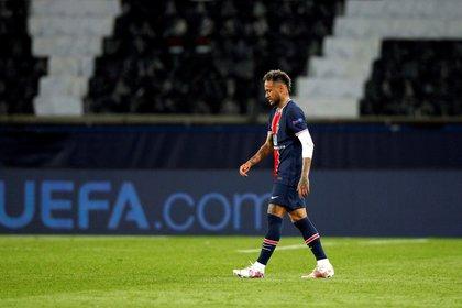 Ney quedó seriamente dañado en lo emocional tras la frustración en la Champions League (EFE/EPA/YOAN VALAT)