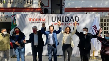 El INE impuso a Morena una multa de 3 millones 059 mil 883 pesos (Foto: Captura de pantalla Morena)