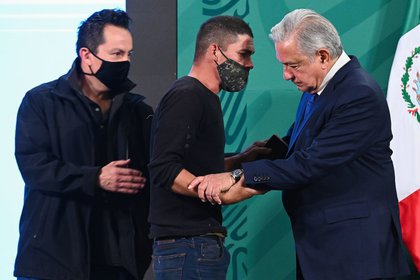 Hasta el momento, se desconoce cómo el sujeto logró burlar los filtros de seguridad de Palacio Nacional. (Foto: DANIEL AUGUSTO /CUARTOSCURO.COM)