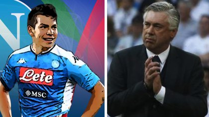 Lozano llegó a Roma hoy para concretar su contratación con el Napoli (Foto: Twitter/Especial)
