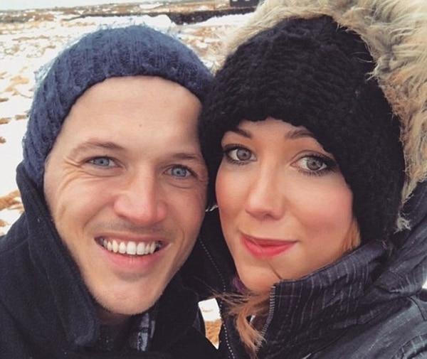 Jake Coates y su nueva novia, Jenna Shelby