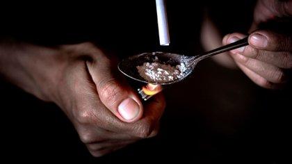 Las muertes por consumo de drogas aumentaron un 16% desde el año pasado en Inglaterra y Gales (Shutterstock)