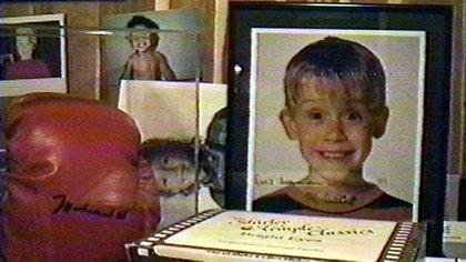Los oficiales hallaron imágenes de Macaulay Culkin y otros menores