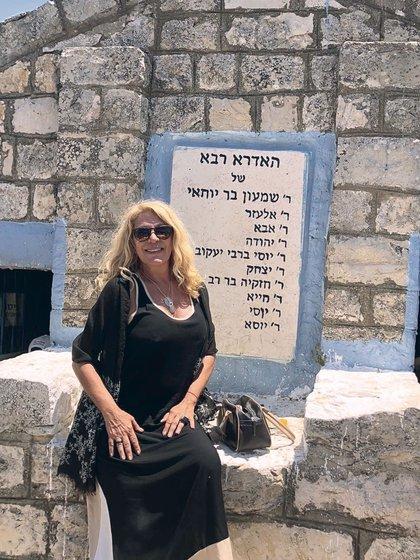 La cueva donde el rabino Shimon bajó a recibir el Libro del Esplendor, manual cabalístico por excelencia.