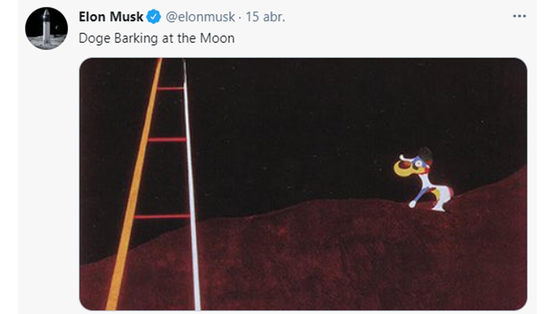 Elon Musk sobre el dogecoin