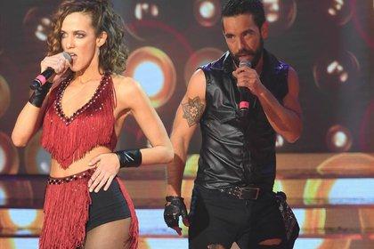 Agustín Sierra e Inbal Comedi, en el Cantando 2020 (Crédito: Jorge Luengo/LaFlia)