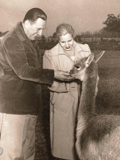 Perón y Eva amaban a los animales - AHN