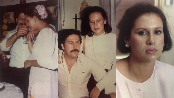 En el libro la viuda de Escobar decidió publicar fotos de su familia (Victoria Eugenia Henao – Editorial Planeta)