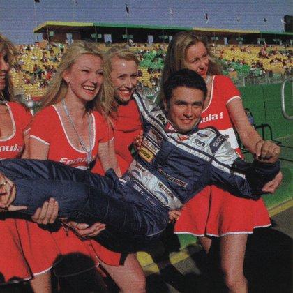 Bien acompañado en su debut en la F1 en Australia (Archivo CORSA).