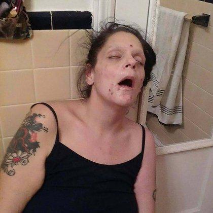 Hace un año y medio que Melissa Lee Matos no consume drogas. Era adicta a la heroína (Facebook)