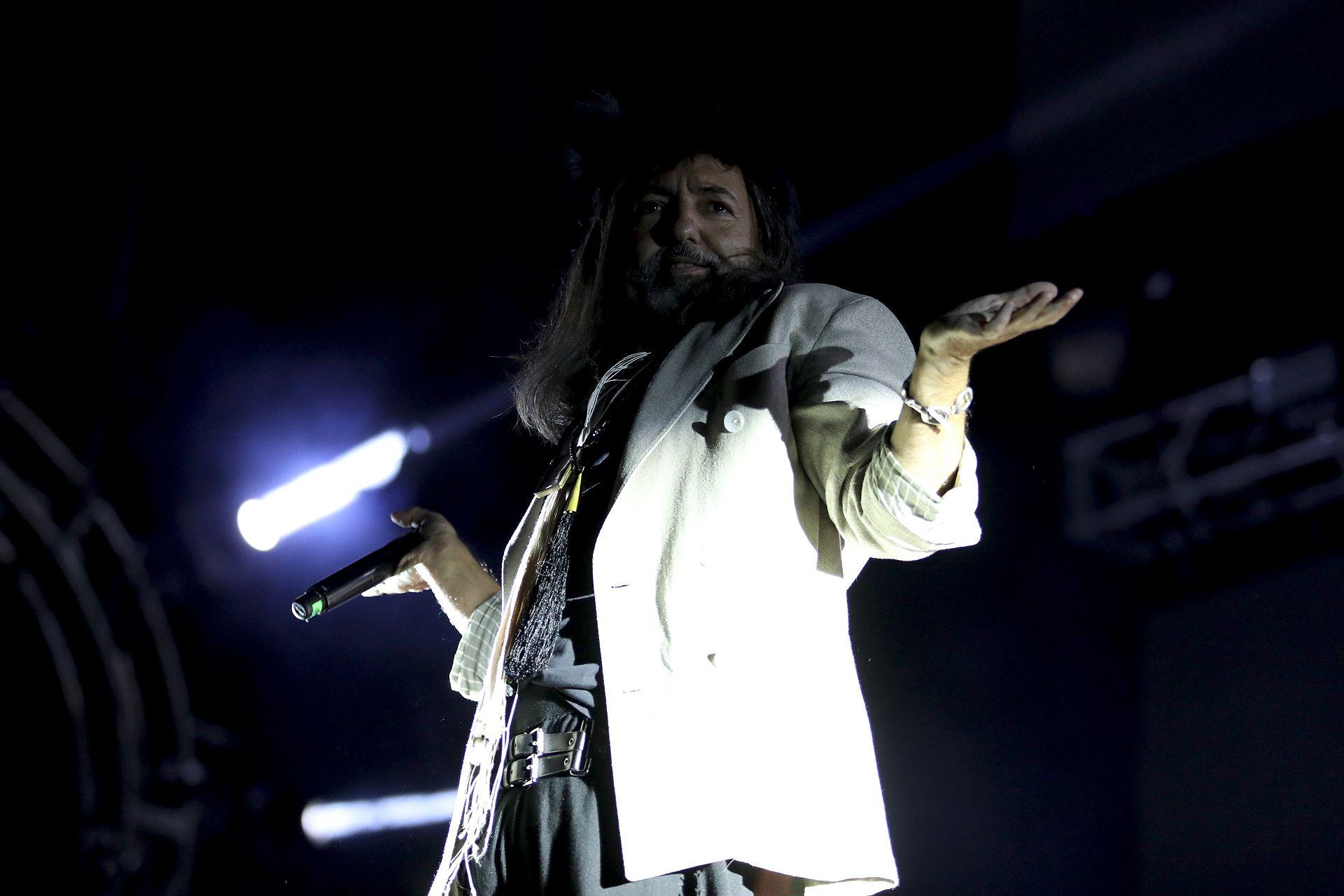 Adrián Dárgelos, de Babasónicos (Mario Sar)