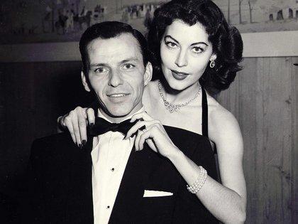 Ava Gardner y Frank Sinatra. La actriz fue el gran amor de su vida (Shutterstock)
