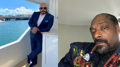 """""""Grandes Ligas"""": Lupillo Rivera y Snoop Dogg eran compañeros de clase y ahora lanzaron una canción juntos"""