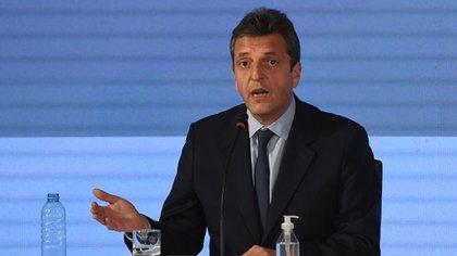 Sergio Massa (Maximiliano Luna)