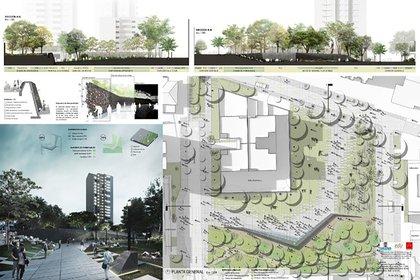 Este es el diseño del parque Inflexión, que consta de tres momentos.