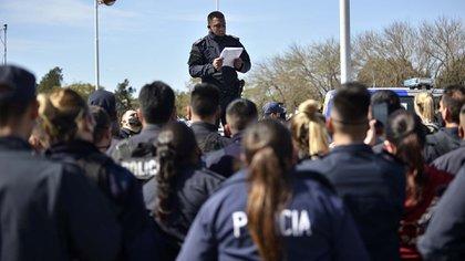 Policías en La Matanza a la espera de respuestas (Gustavo Gavotti)