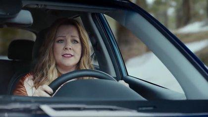 Melissa McCarthy en el comercial de Kia Niro, en 2017.