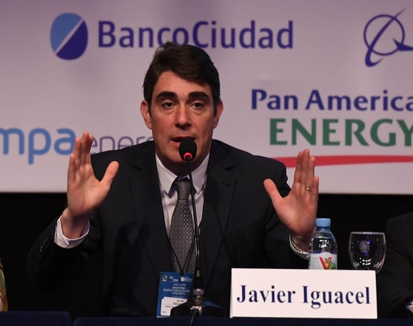 Javier Iguacel, secretariode Energía (foto: Maximiliano Luna)