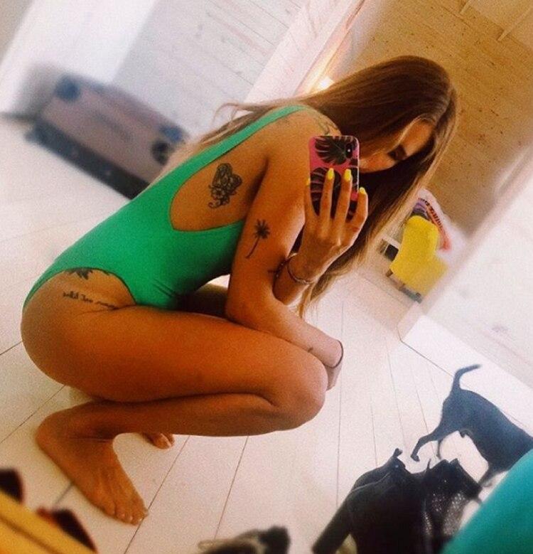 Los tatuajes de Mica Tinelli (Foto: Instagram)