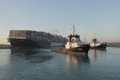 (Autoridad del Canal de Suez/vía REUTERS)