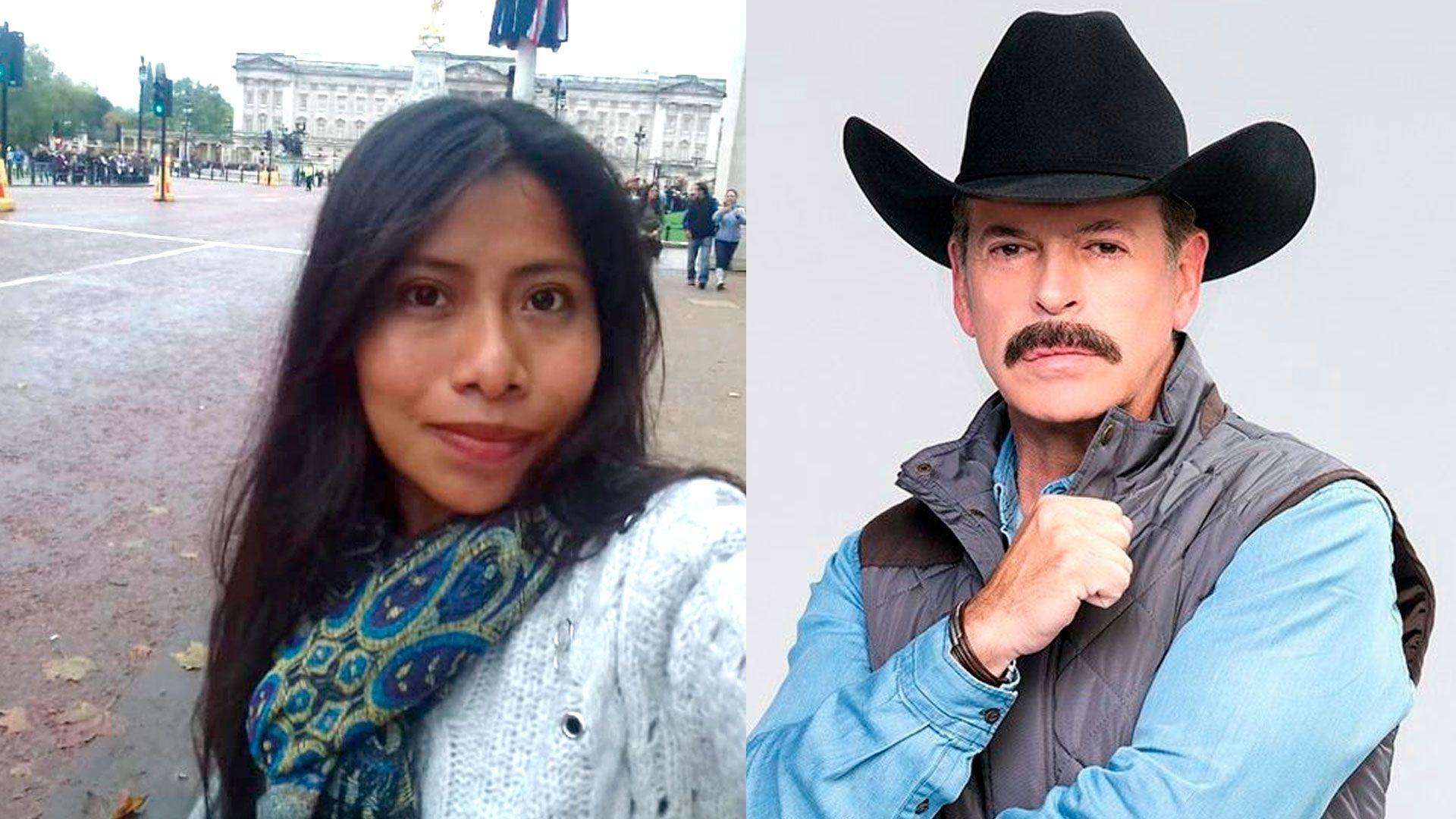 "En 2019, Sergio Goyri llamó ""pinche india"" a Yalitza Aparicio. (Foto: Telemundo, Instagram @yalitzapariciomtz)"
