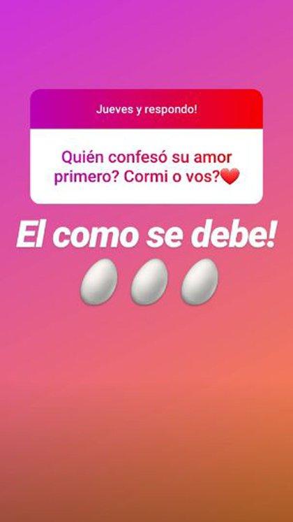 Los mensajes de Estefanía en su cuenta en Instagram sobre su relación con Cormillot
