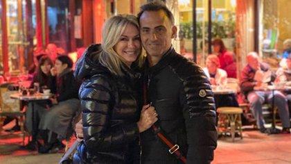 Yanina y Diego en la primera foto en las que se lo vio unidos, después de la crisis sentimental (Instagram)