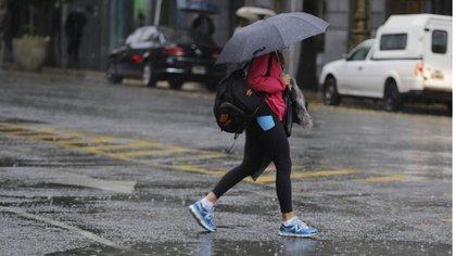 Vuelven la lluvia en el centro porteño.