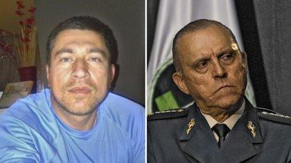 """José Rodolfo Villareal Hernández, el """"Gato"""", uno de los más buscados por el FBI y el general Salvador Cienfuegos Zepeda (Foto: Especial)"""