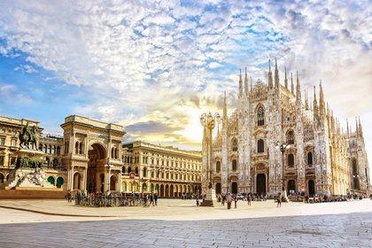 Ciudades italianas como Milán experimentaron algunas de las mayores caídas de precios desde el cierre, donde los costos generales cayeron un 18,7% de marzo a agosto de 2020