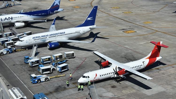 La huelga dejaría a cientos de miles de pasajeros sin volar (foto de archivo: Adrián Escandar)