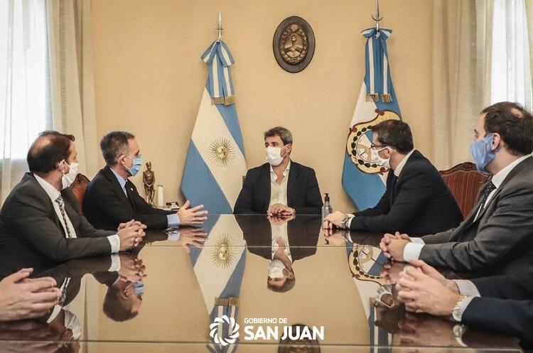 El gobernador sanjuanino confirmó que en la provincia la economía está activada en un 92%