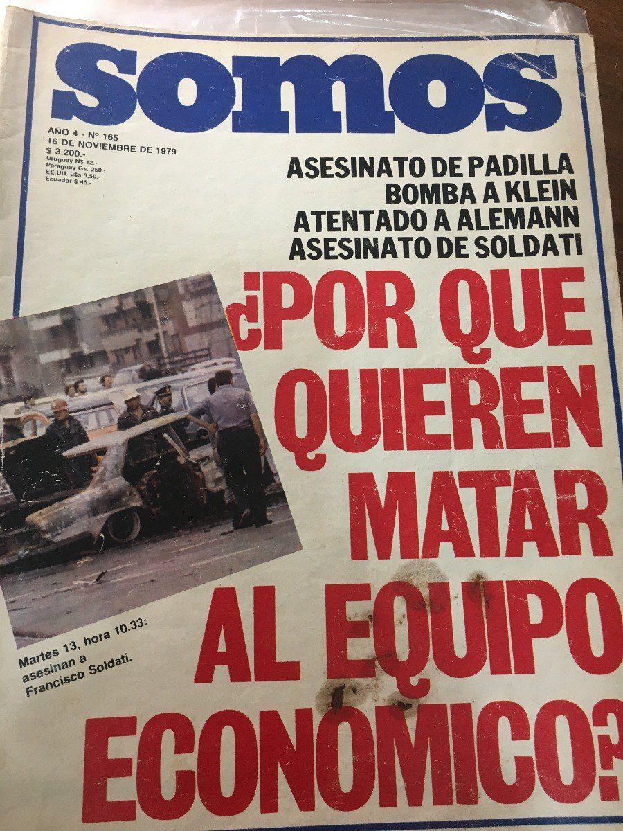 La referencia a la ola de atentados en la edición de la revista Somos