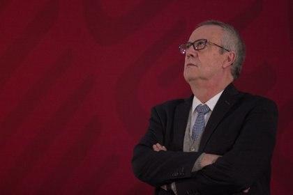 Otro caso destacado de críticas a la 4T, son las que ha hecho el ex secretario de Hacienda, Carlos Urzúa. (Foto: GALO CAÑAS /CUARTOSCURO.COM)