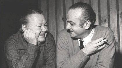 Con Aníbal Troilo, Pichuco, maestro y mentor