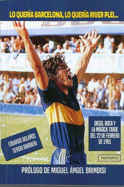 Le livre Bolaños y Barbieri paru quelques jours avant le départ de Diego.  Le prologue est de Miguel Brindisi.