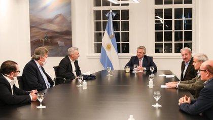 Alberto Fernández recibió en Olivos a los representantes de la Federación Argentina de Iglesias Evangélicas