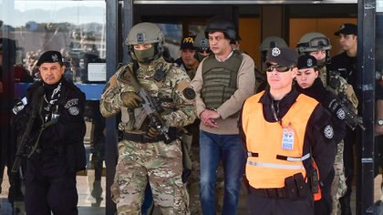Víctor Manzanares, detenido desde julio (Télam)