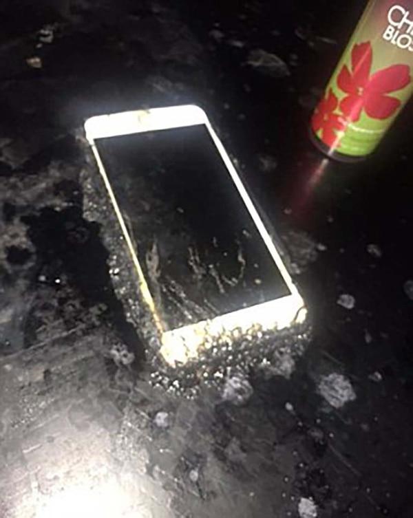 Otro de los riesgos que corren es quemar lo que está al su alrededor (Foto: Daily Mail)