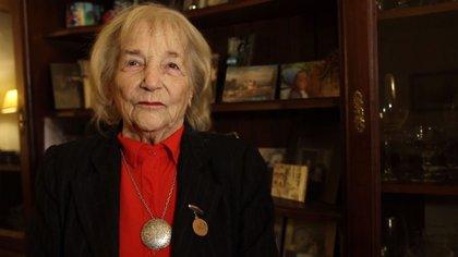 La reconocida cocinera falleció a los 94 años