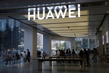 Local de Huawei en Beijing (Reuters)