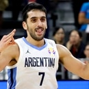 Basketball - FIBA World Cup - Quarter Finals - Argentina v Serbia - Dongguan Basketball Center, Dongguan, China - September 10, 2019 Argentina's Facundo Campazzo reacts during the match REUTERS/Kim Kyung-Hoon