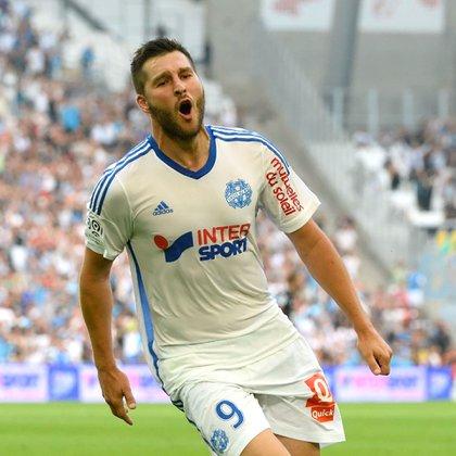 Gignac jugó en varios clubes de Francia, incluido el Olympique de Marsella (Foto: @OM_Espanol)