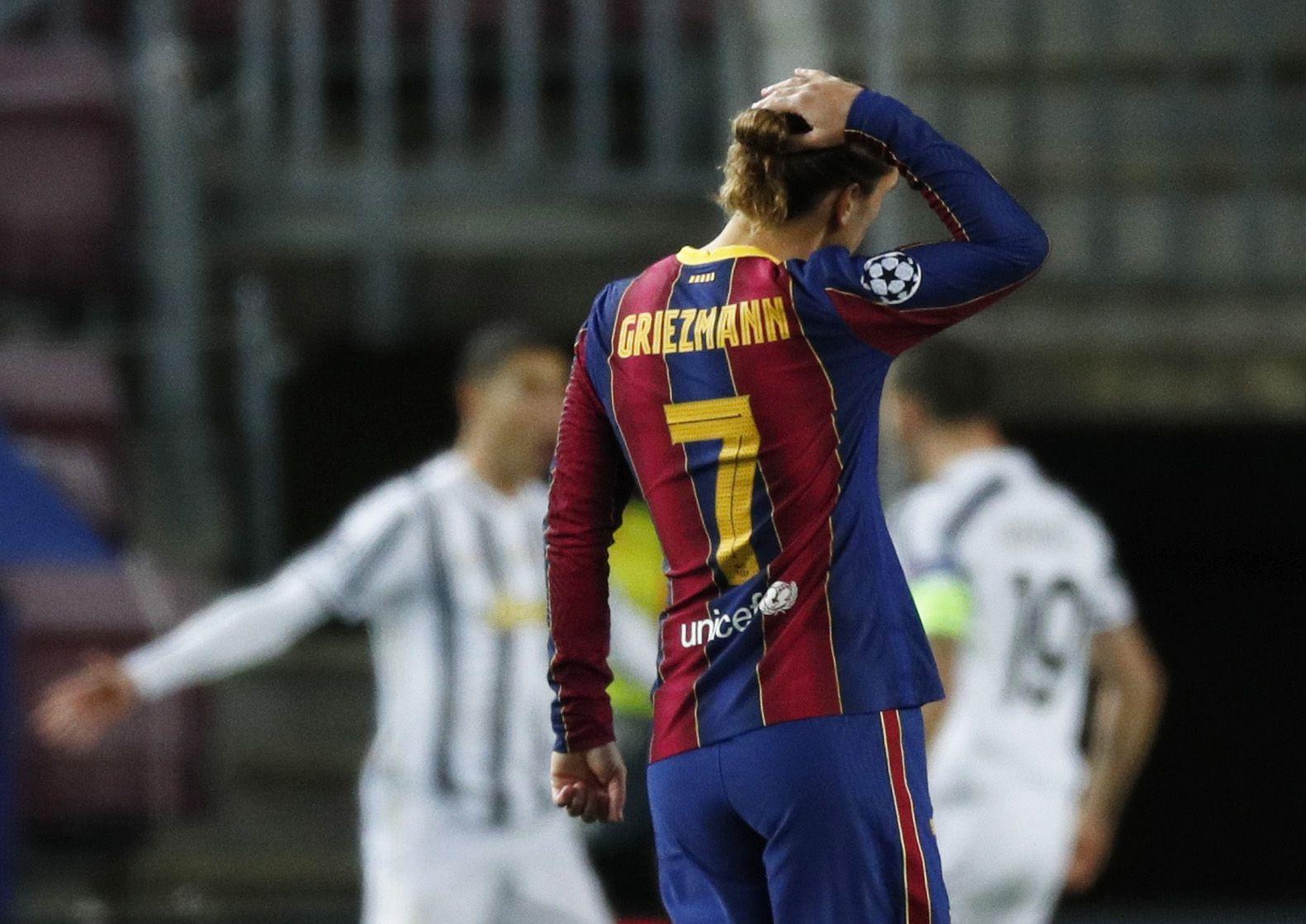 El francés cargó contra el equipo por el rendimiento mostrado ante la Juventus - REUTERS