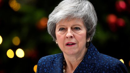La primera ministra Theresa May (Reuters/ Toby Melville)