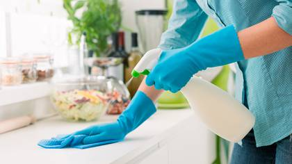 Las etiquetas de los productos de limpieza contienen mucha información; el problema es que muy pocas personas leen esas indicaciones (Shutterstock)