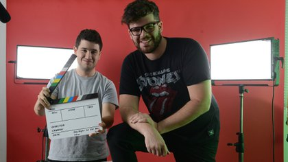 Zepet y Nico son los creadores del canal argentino 'Pilo'. Foto: Fernando Calzada.