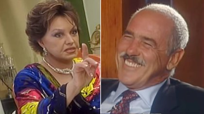 Andrés García considera a Sonia Infante como uno de sus grandes amores (Foto: TV Azteca)