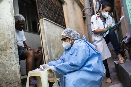 Brasil se ha convertido en uno de los focos mundiales del virus.