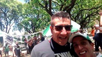 Uno de los hermanos Lucero, junto a Pablo Mandibulín Quintana, nexo con la facción de la barra de River de José León Suárez